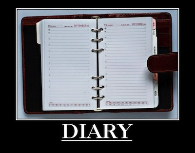 online diary writing