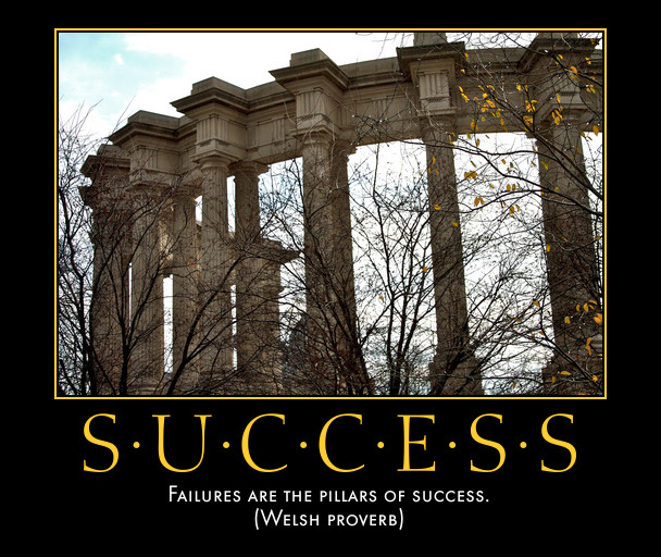 essay-failures are the pillars of success