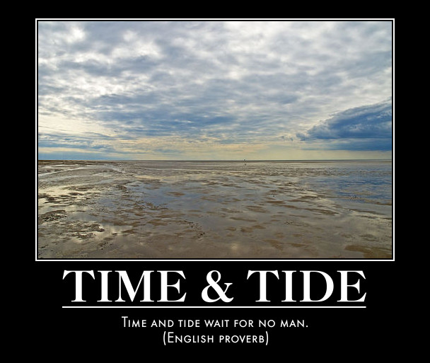 Time and tide waits for none essay